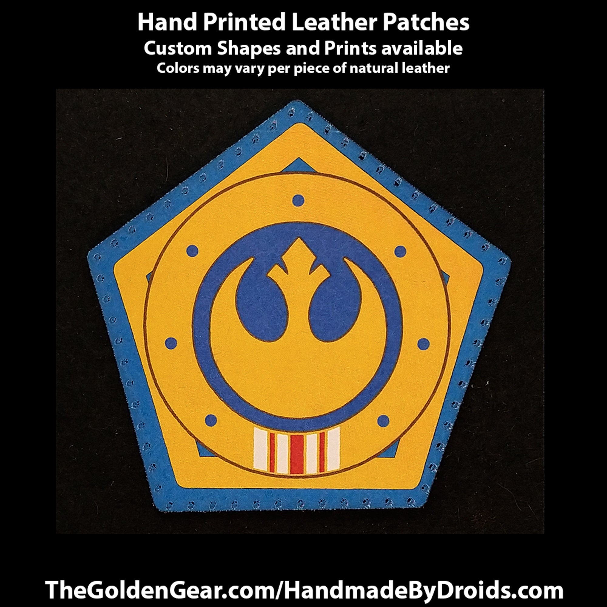 Marshal Kara Dune (Star Wars) 4 inch Leather Patch