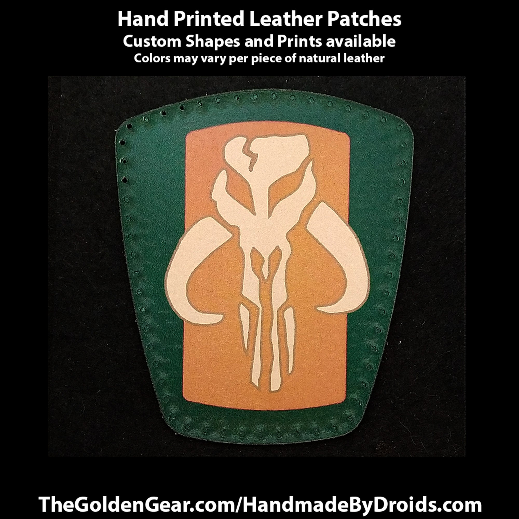 Mythosaur Signet (Star Wars) 4 inch Leather Patch
