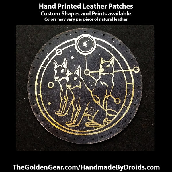 Lothwolf Portal Guardians (Star Wars) 3.8 inch Leather Patch