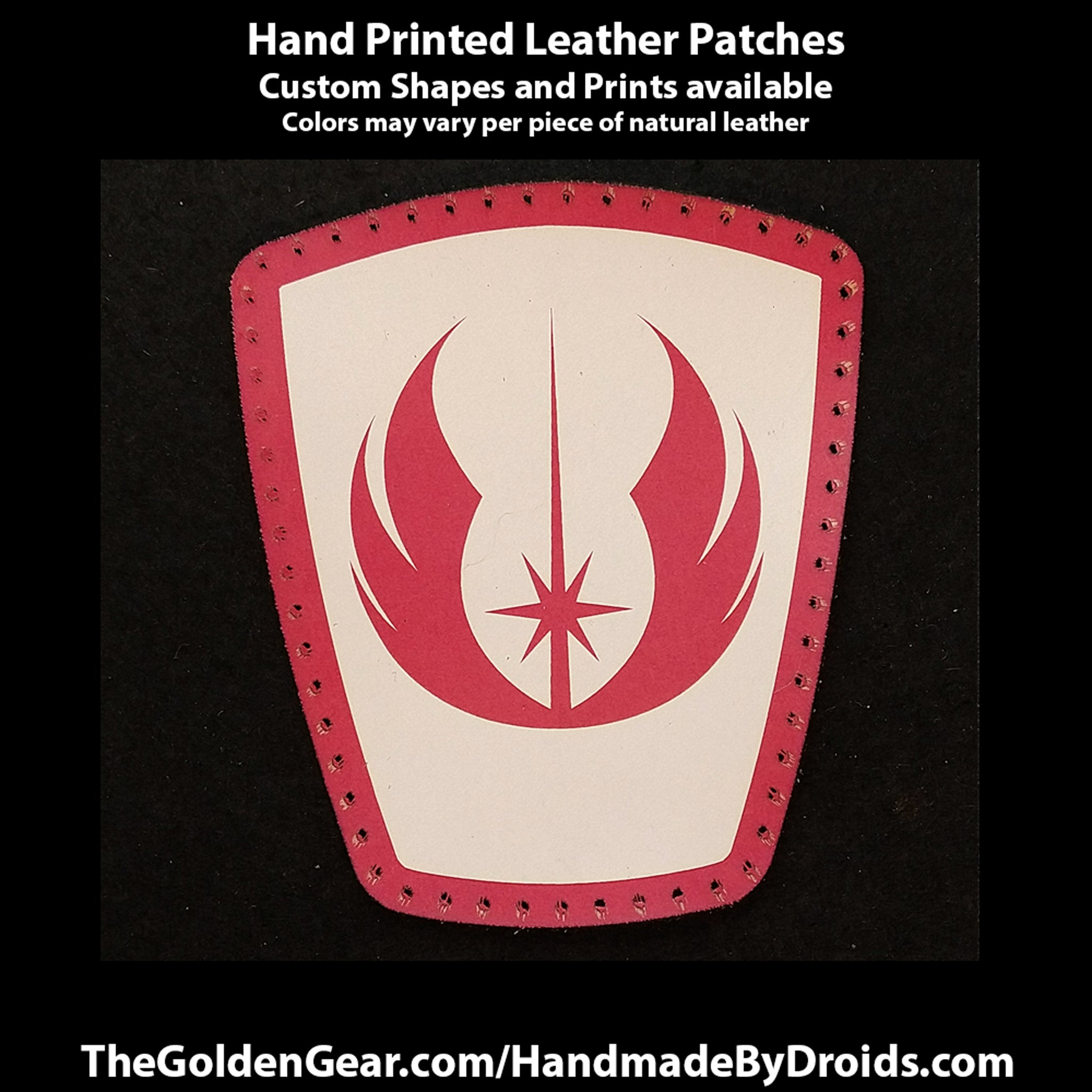 Republic Jedi (Star Wars) 4 inch Leather Patch