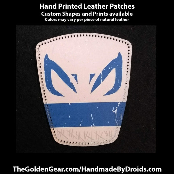 Clone Captain Rex (Star Wars) 4 inch Leather Patch