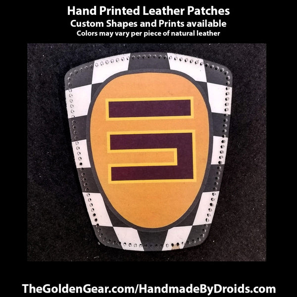Sabine Wren Spectre Five (Star Wars) 3.8 inch Leather Patch