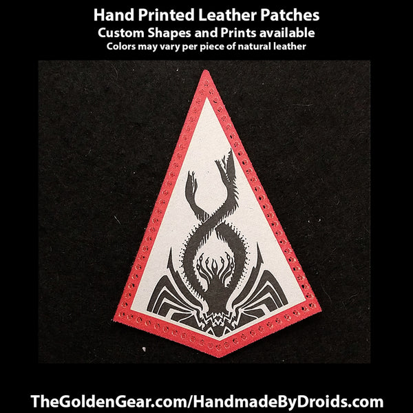Thrawn's Chimera (Star Wars) 3.8 inch Leather Patch