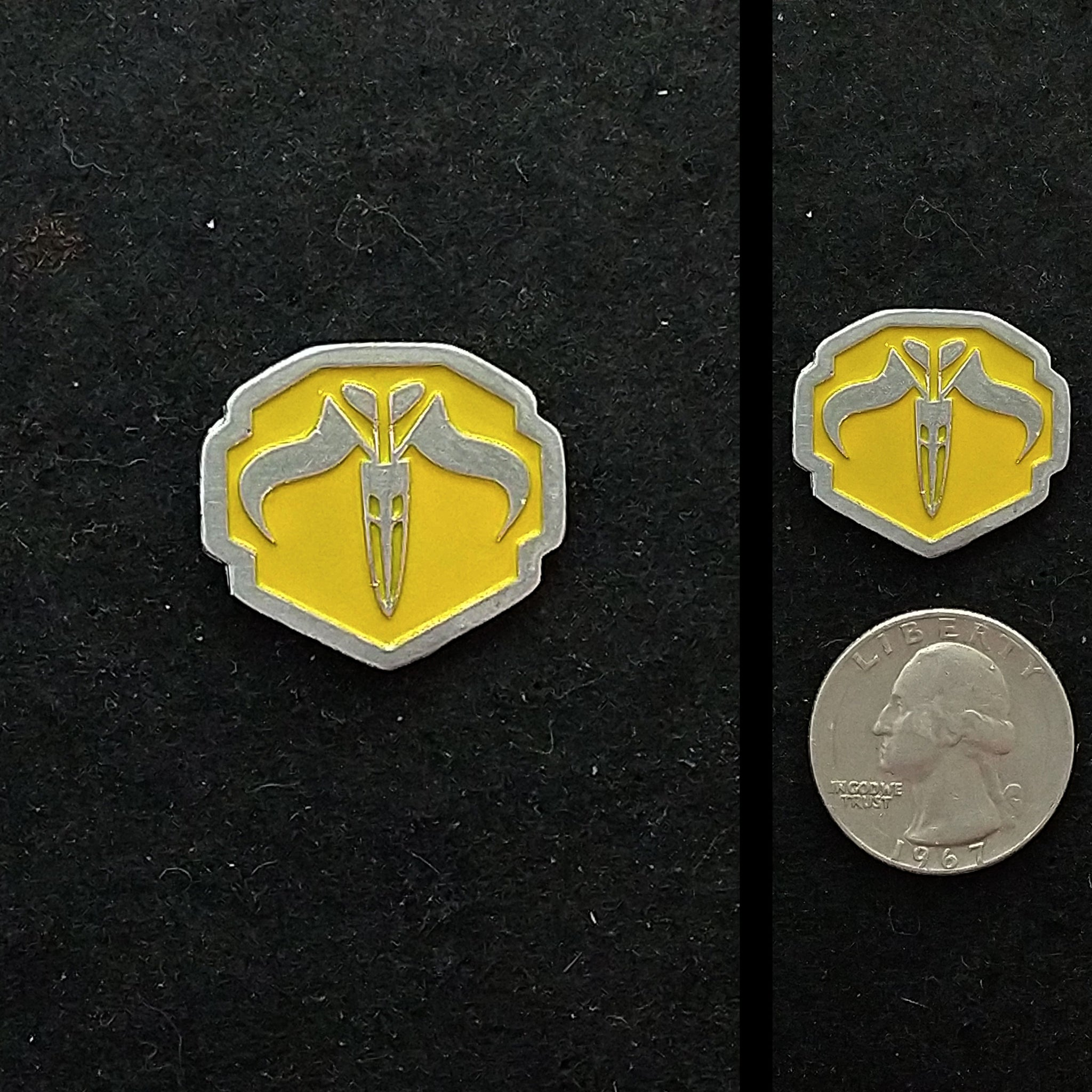 True Mandalorian Pewter Lapel Pin