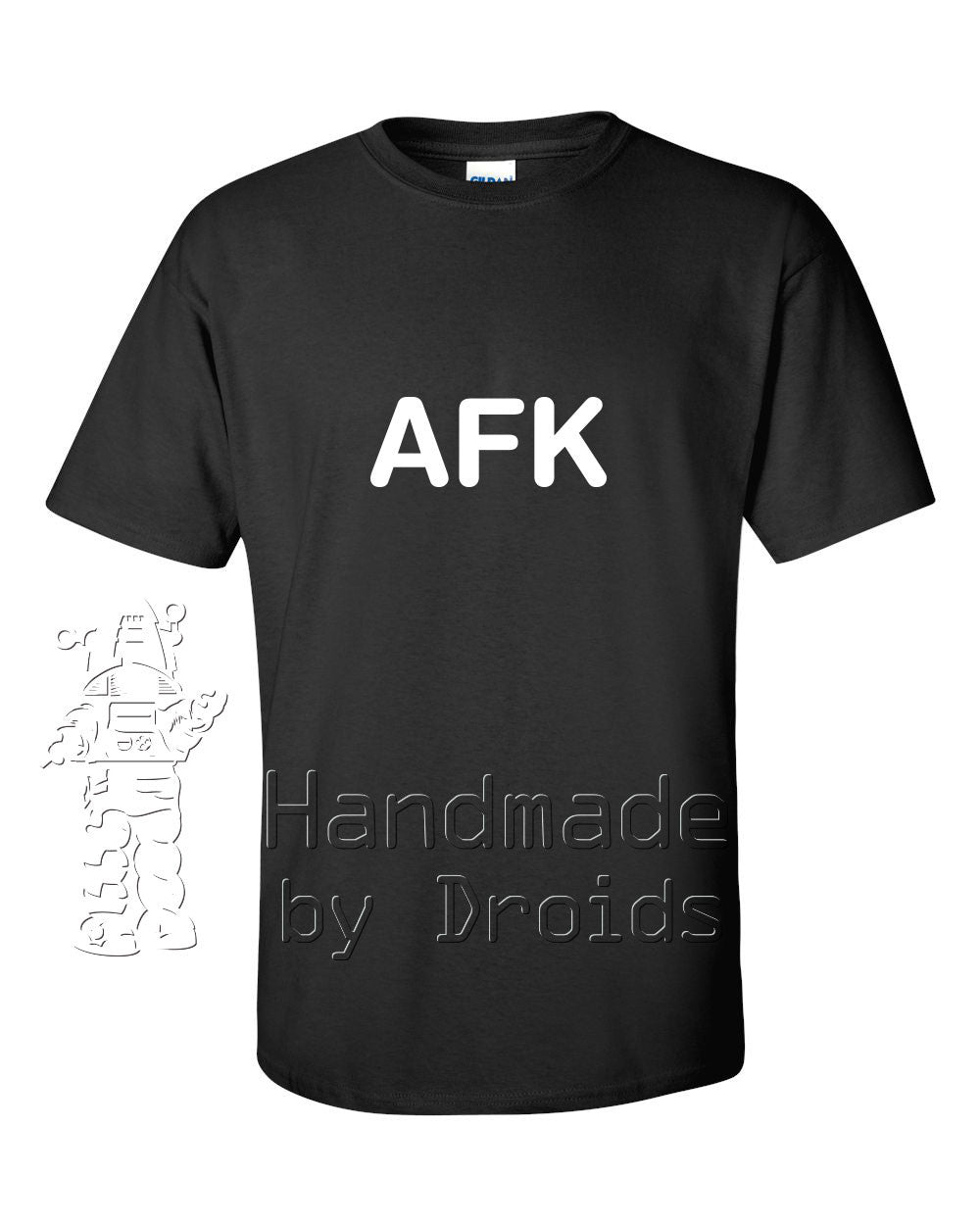 """AFK"" Black T-shirt"
