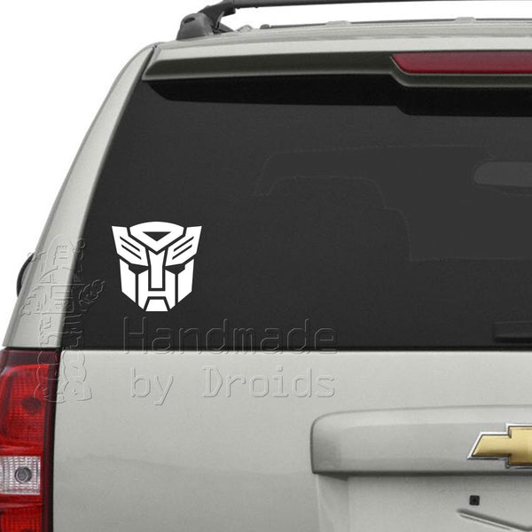 Transformers Autobot Vinyl Decal