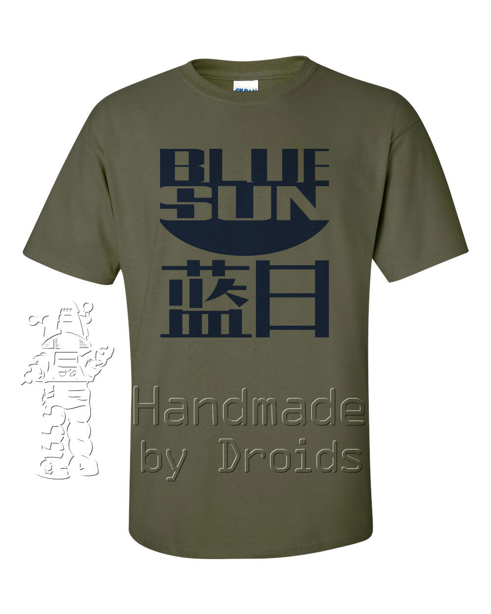 Blue Sun evil corporation logo t-shirt from Firefly