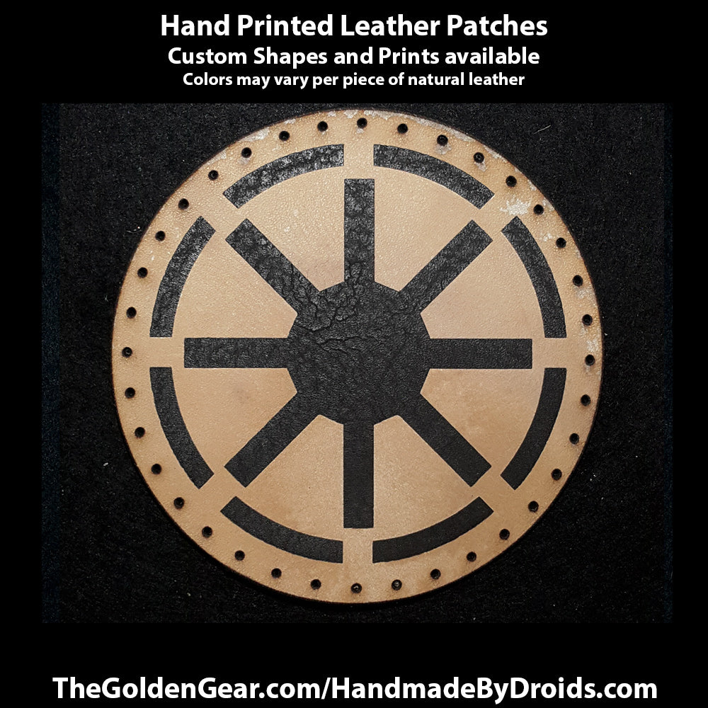 Grand Republic (Star Wars) 4 inch Leather Patch