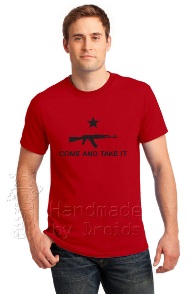 """COME AND TAKE IT"" (AK47) Red Tee"