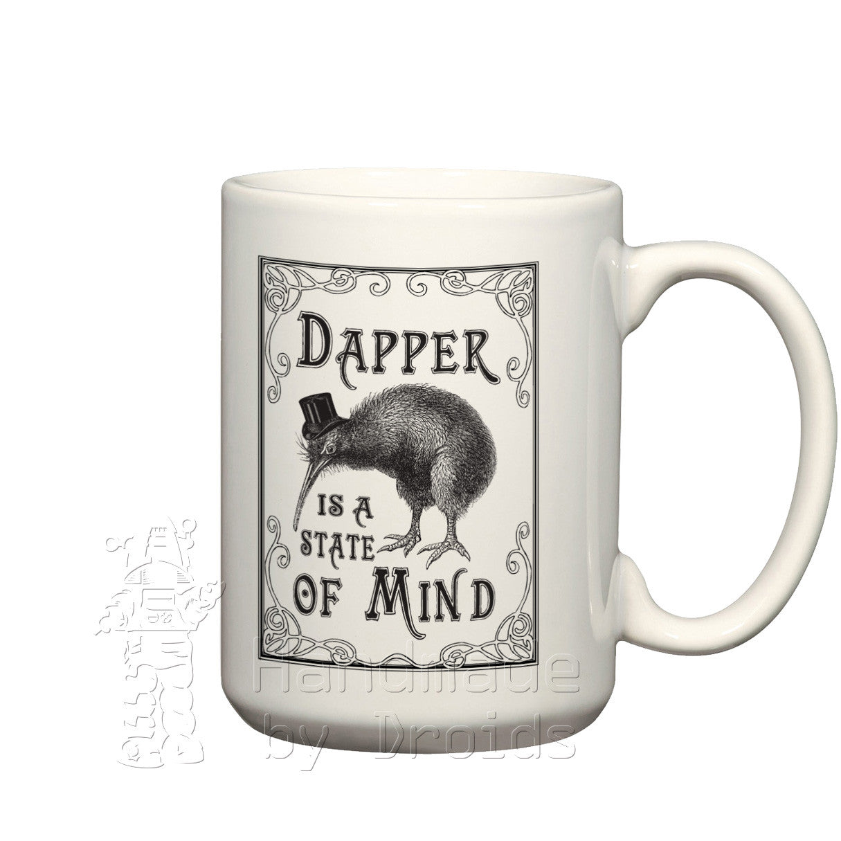 Dapper is a State of Mind Kiwi coffee cup