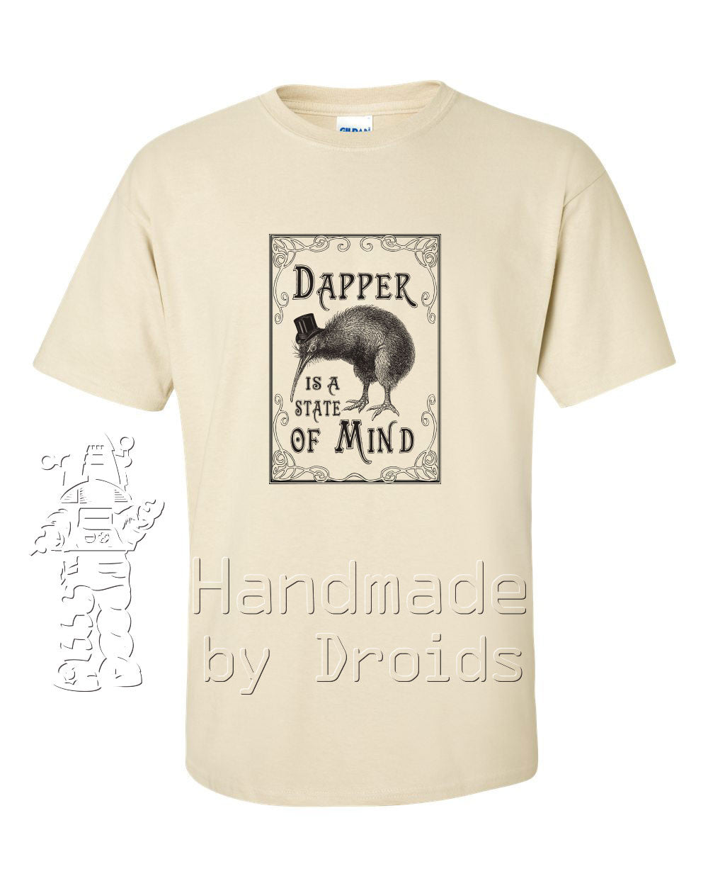 """Dapper is a State of Mind"" (kiwi) T-shirt"