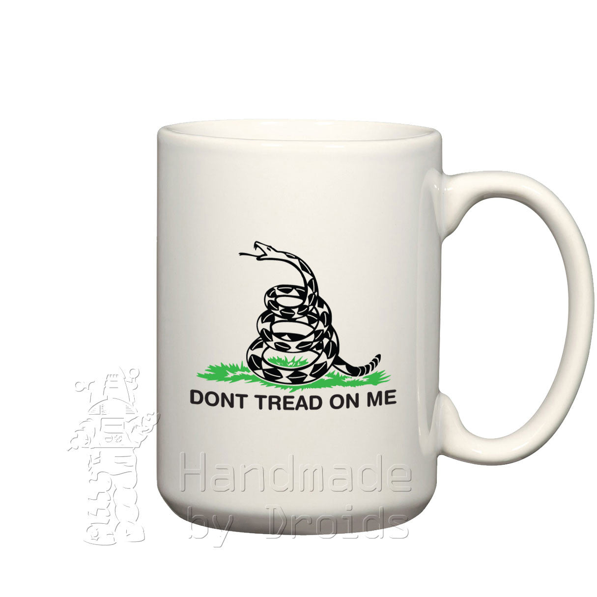 """Dont tread on me"" Gadsden (rattlesnake) Flag mug"