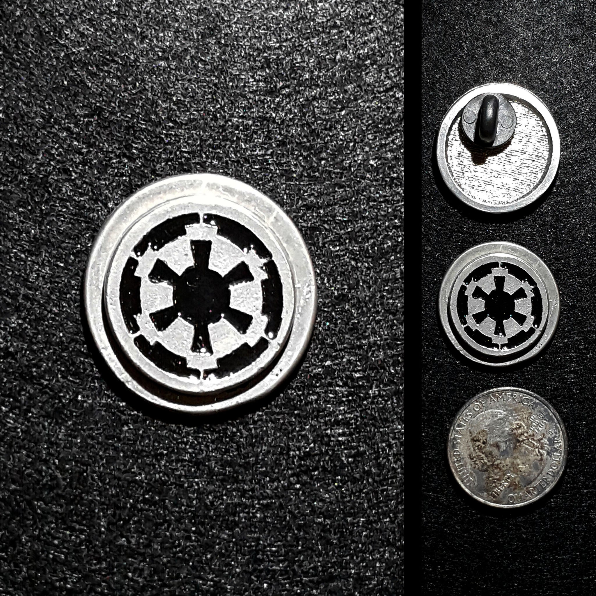 Krennic Style Imperial Greeblie Pewter Lapel Pin