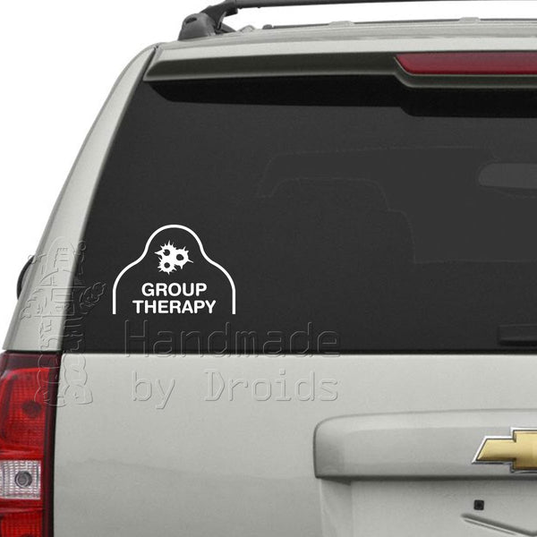 """Group Therapy"" AQT Vinyl Decal"