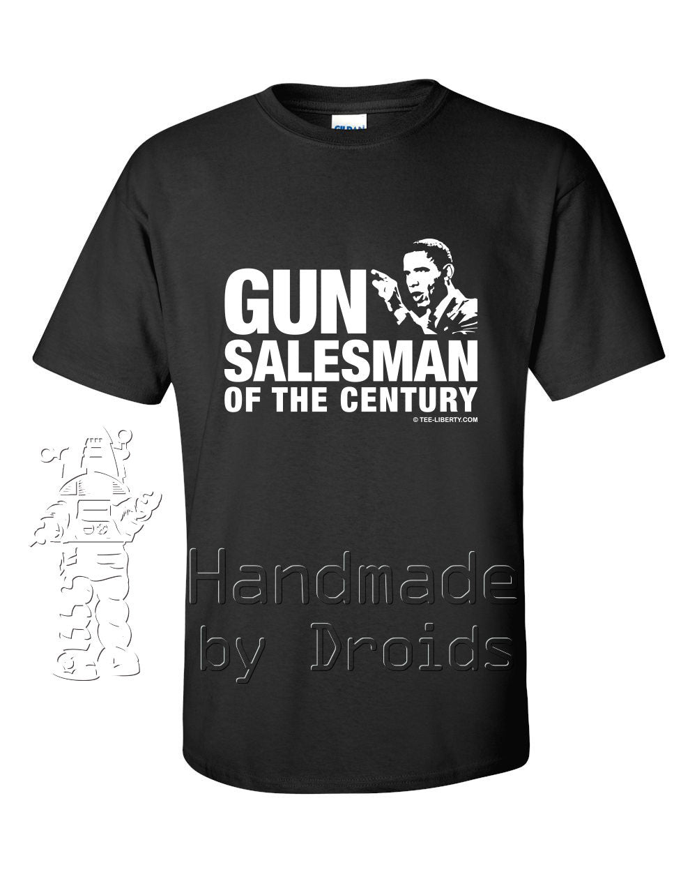 "Barack Obama ""Gun Salesman of the Century"" T-shirt"