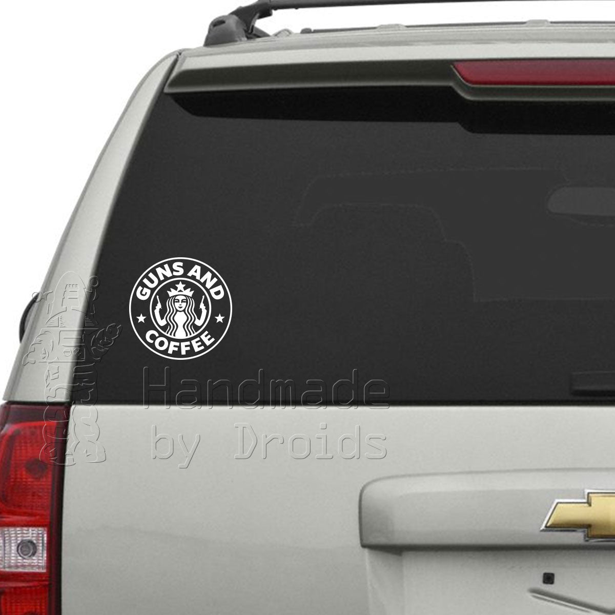 Guns and Coffee Vinyl Decal