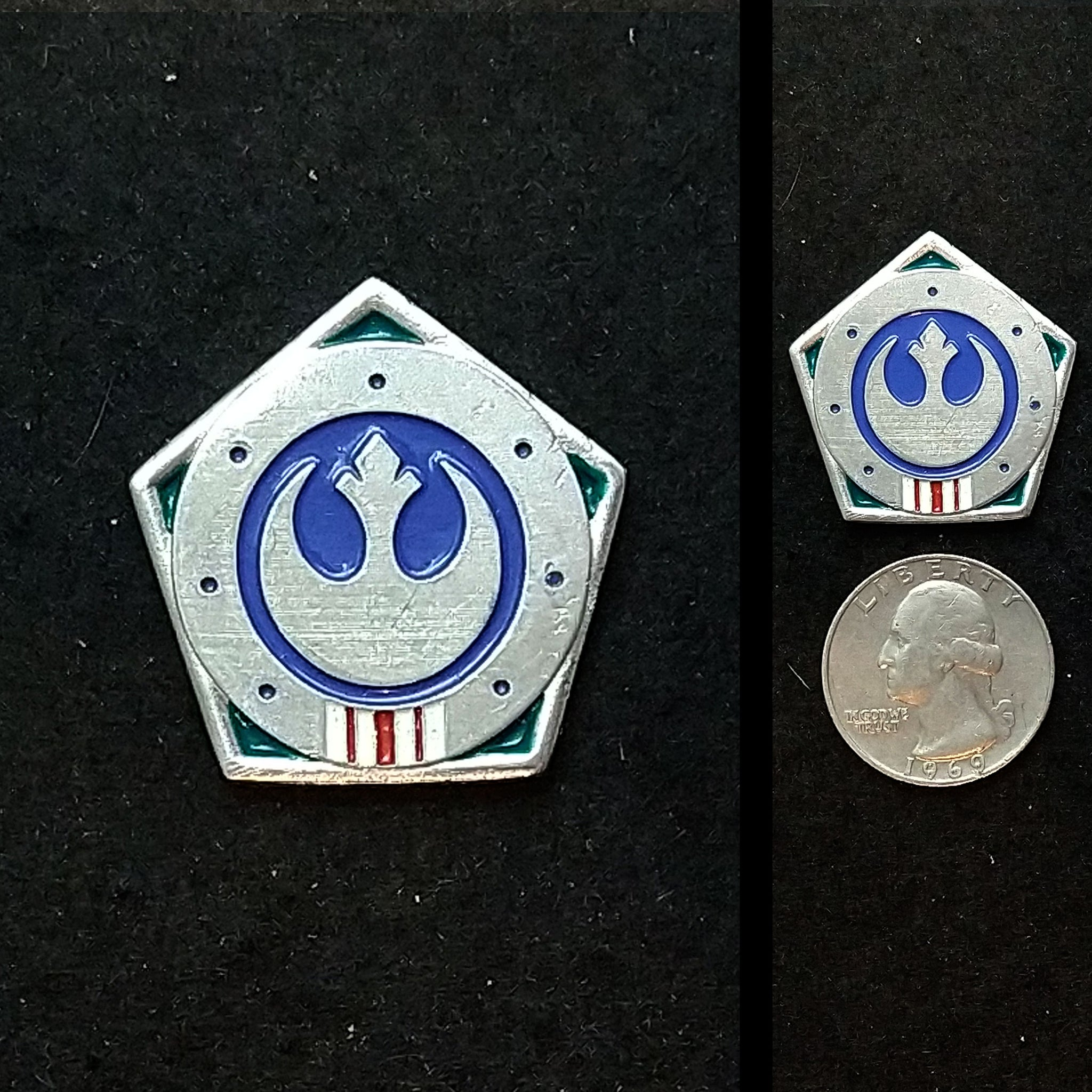 Marshal Kara Dune Pewter Pin