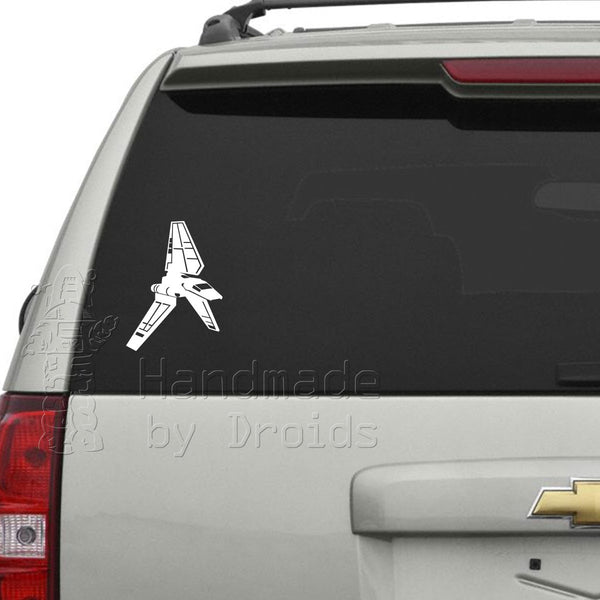 Imperial Lambda Shuttle (Right Facing) Vinyl Decal
