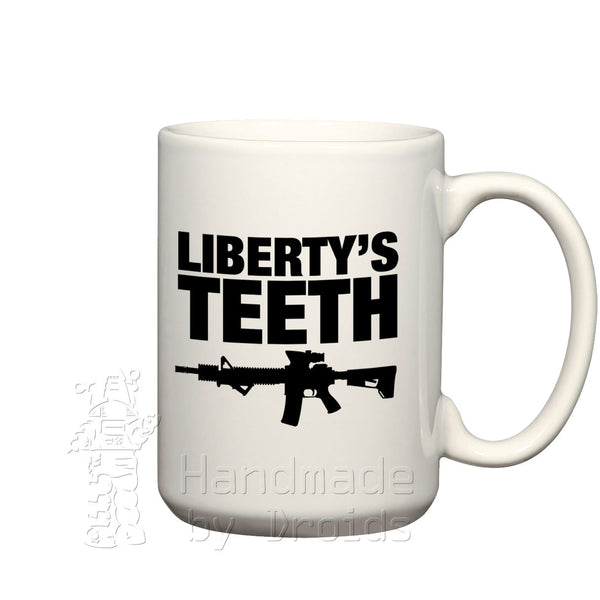 """Liberty's Teeth"" Modern Sporting Rifle Mug"