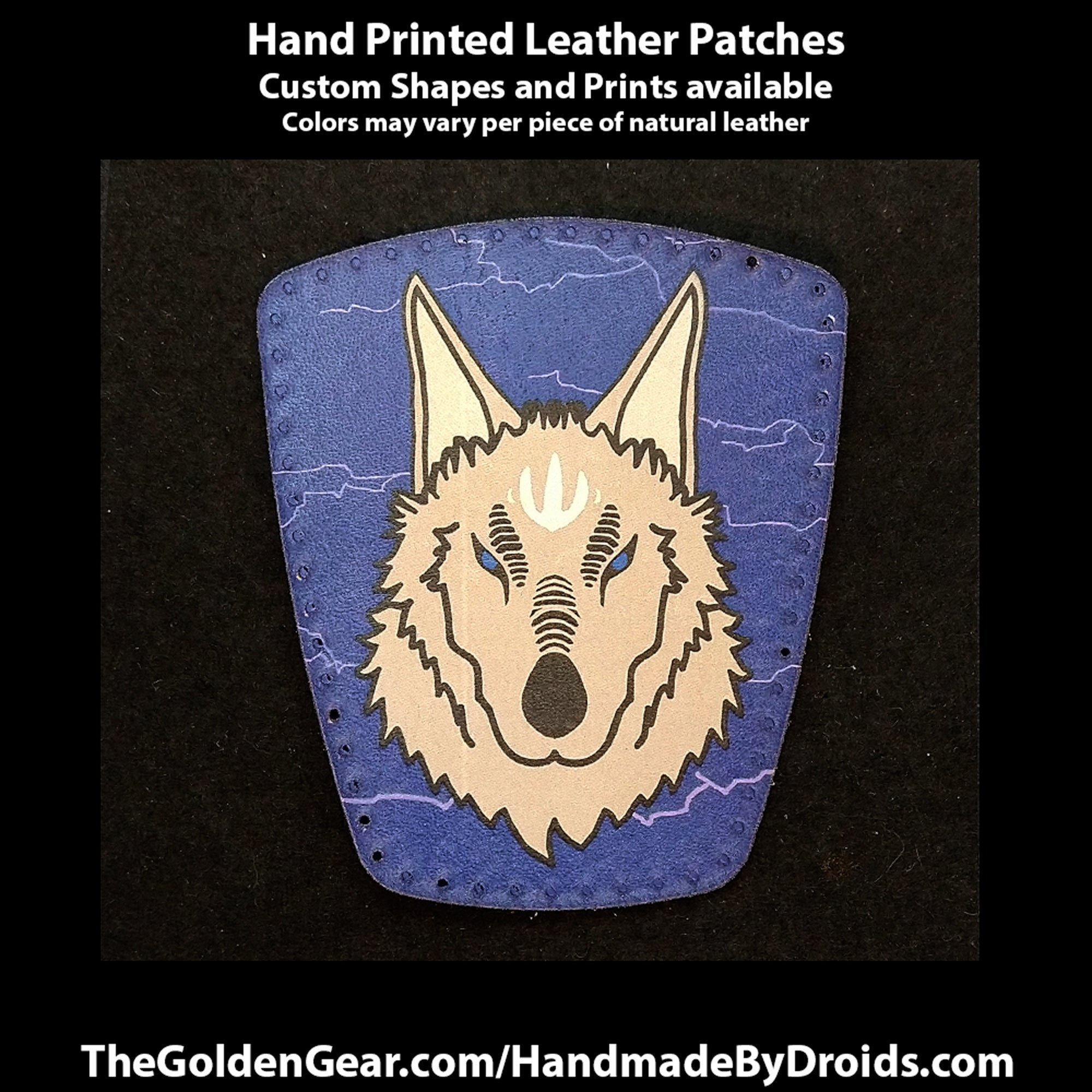 Wolves of Lothal (Star Wars) 4 inch Leather Patch