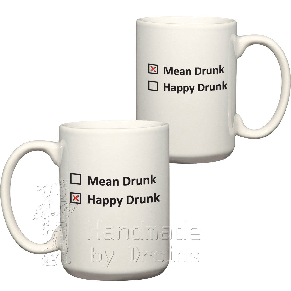 Mean drunk / happy drunk (15oz) Coffee Mug
