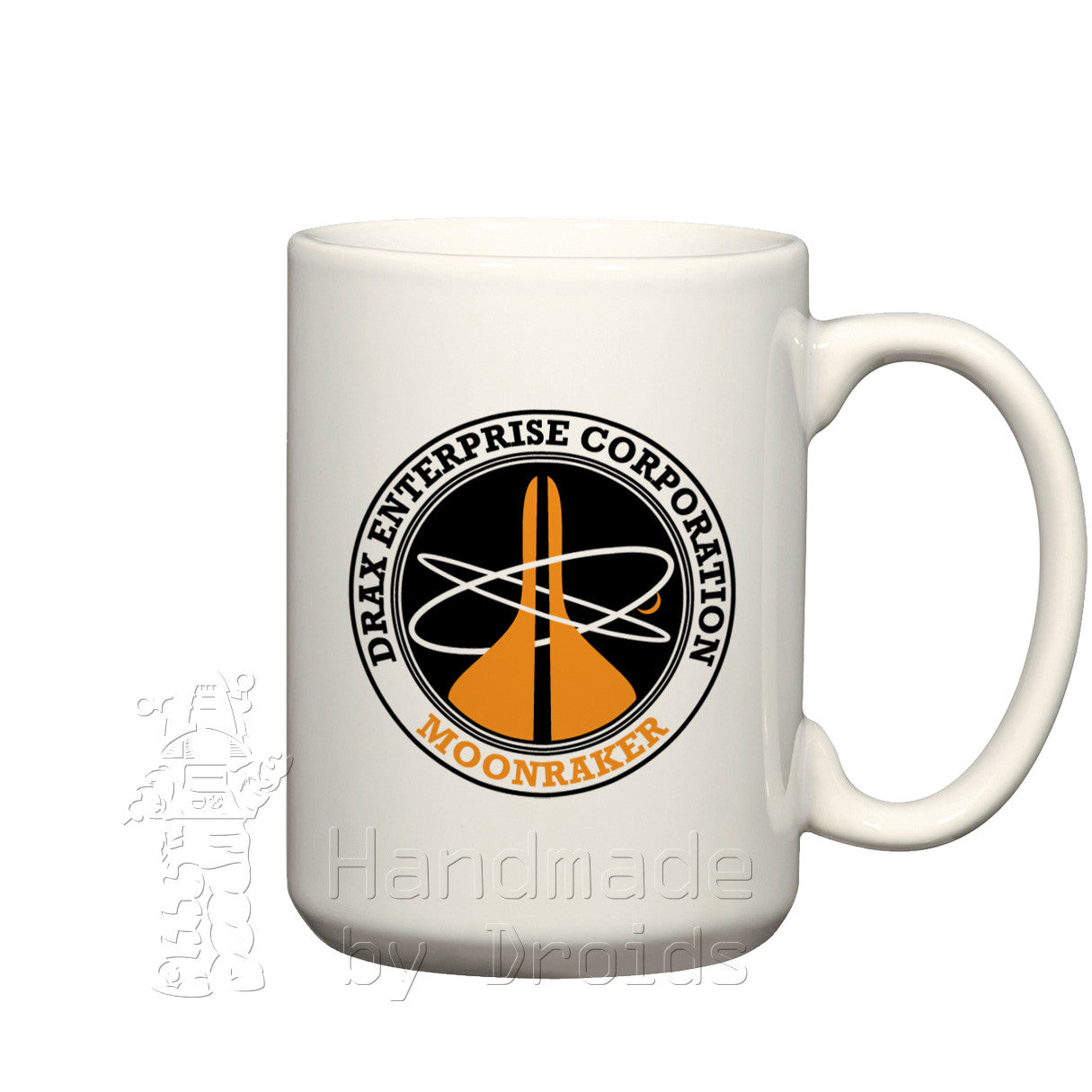 Drax Enterprise Corporation Moonraker logo Mug