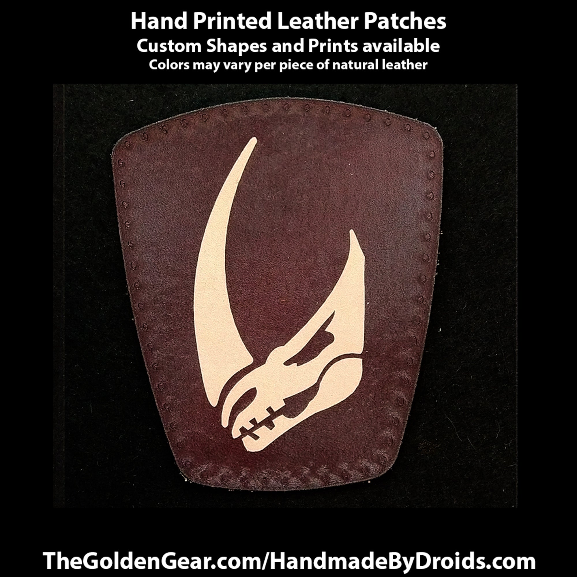 Mudhorn Signet (Star Wars) 4 inch Leather Patch