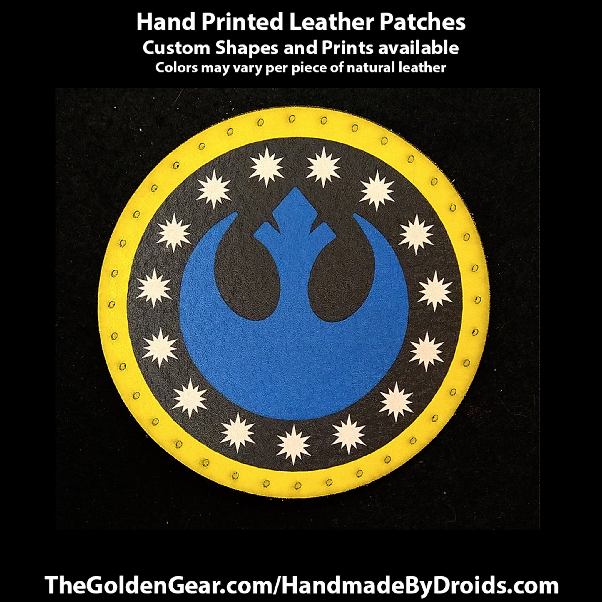 New Republic (Star Wars) 3.8 inch Leather Patch