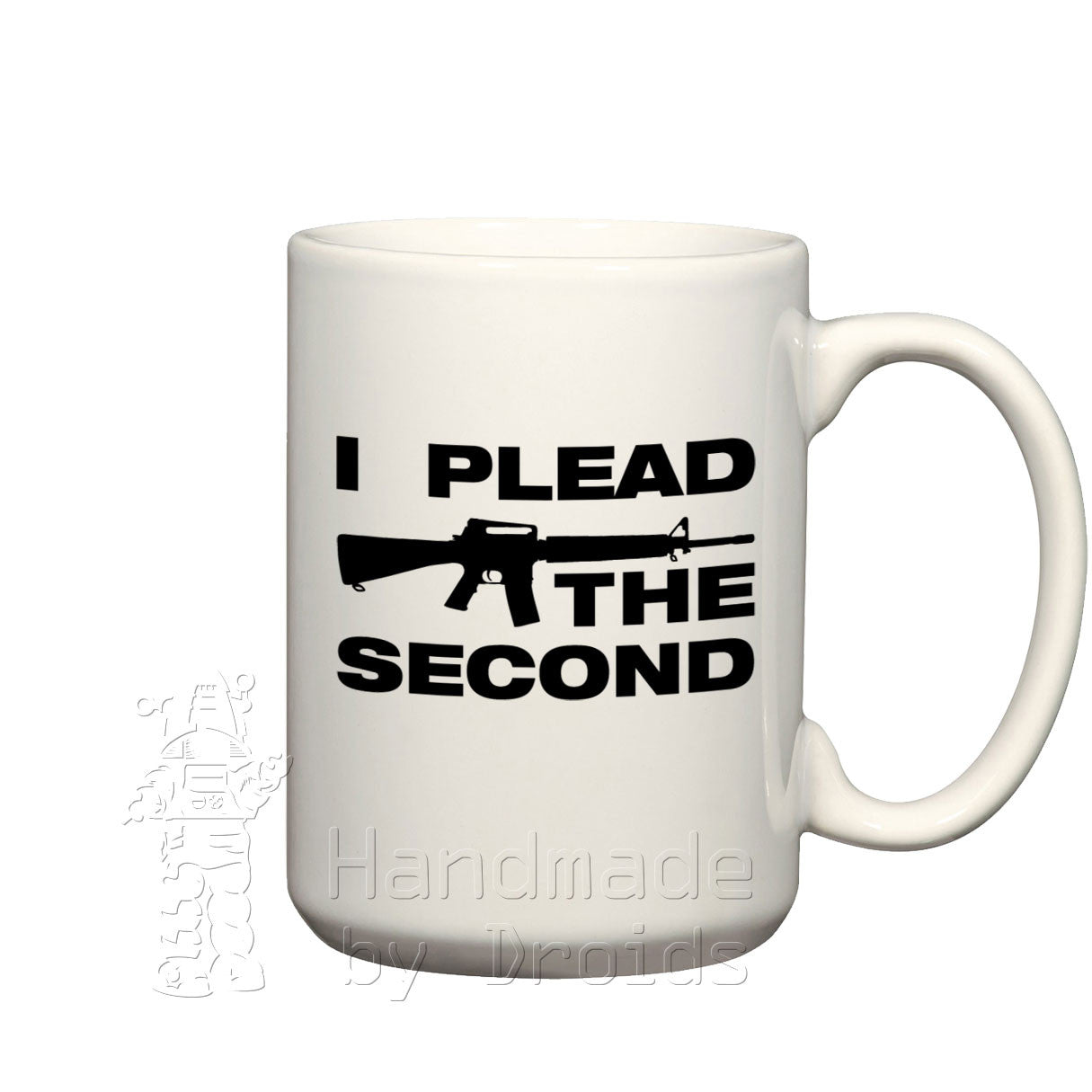 """I plead the second"" modern sporting rifle Mug"