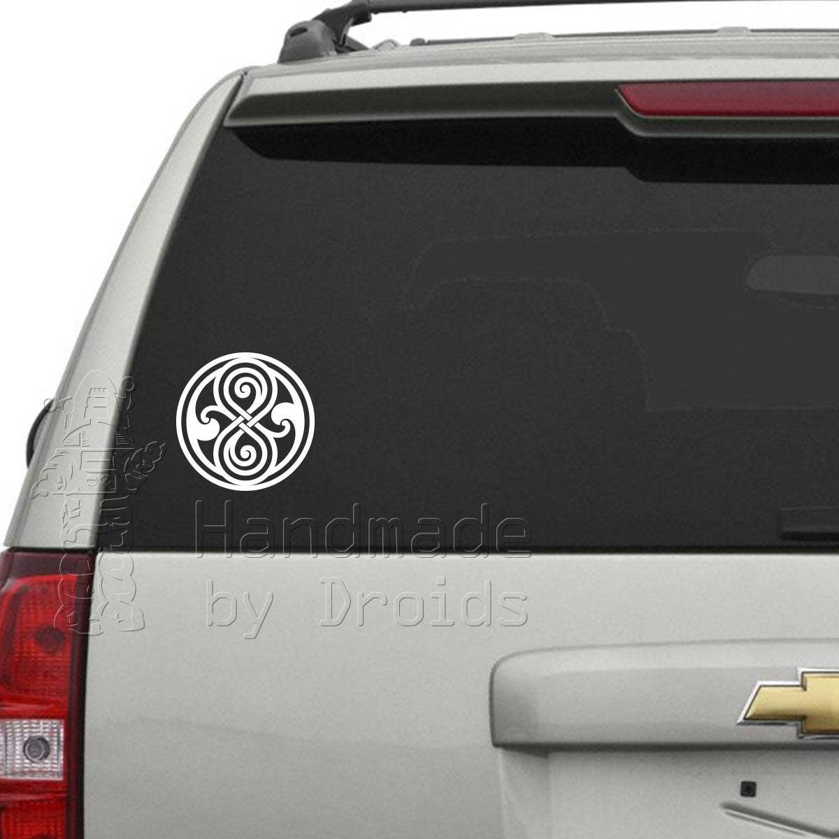 Doctor Who Seal of Rassilon Vinyl Decal