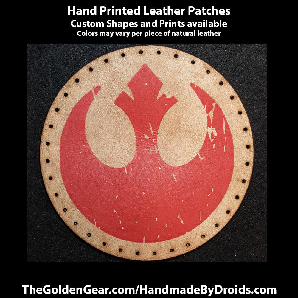 Rebel Alliance (Star Wars) 3.8 inch Leather Patch