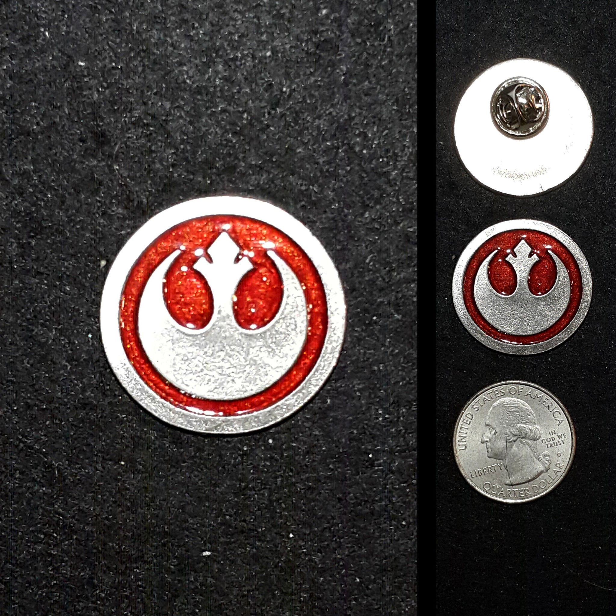Rebel Alliance Pewter Lapel Pin