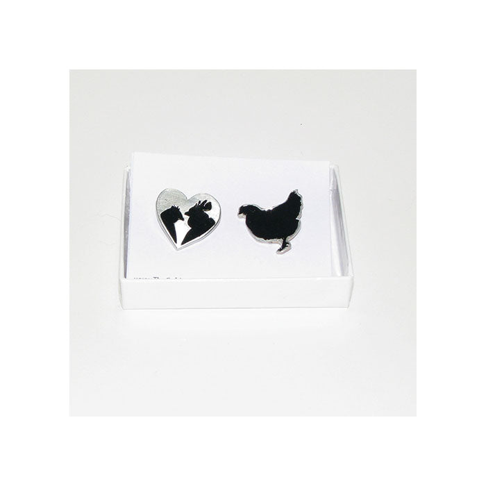 Chicken Lover Pewter Jewelry Collection