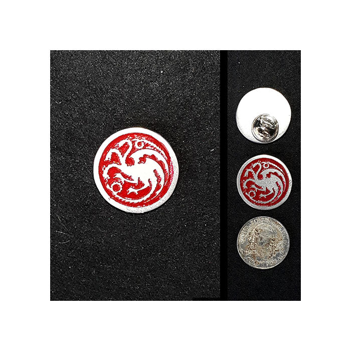 House Targaryan Lapel Pin
