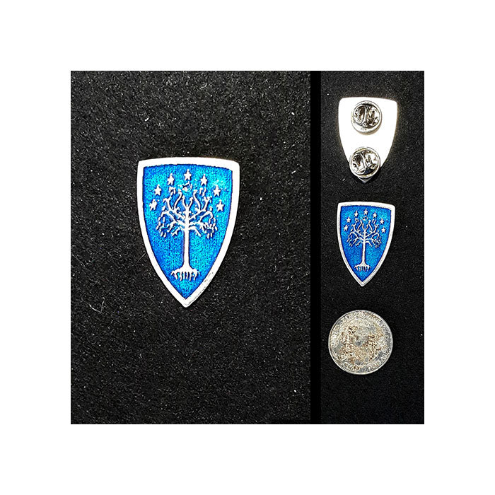 Tree of Gondor Shield Lapel Pin