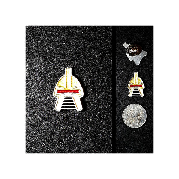 Classic Cylon Commander Lapel Pin