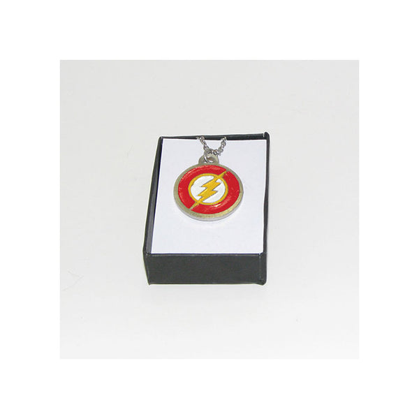 The Flash Pewter Pendant