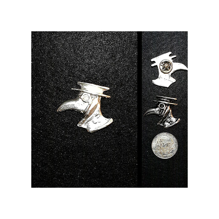 Plague Doctor Lapel Pin