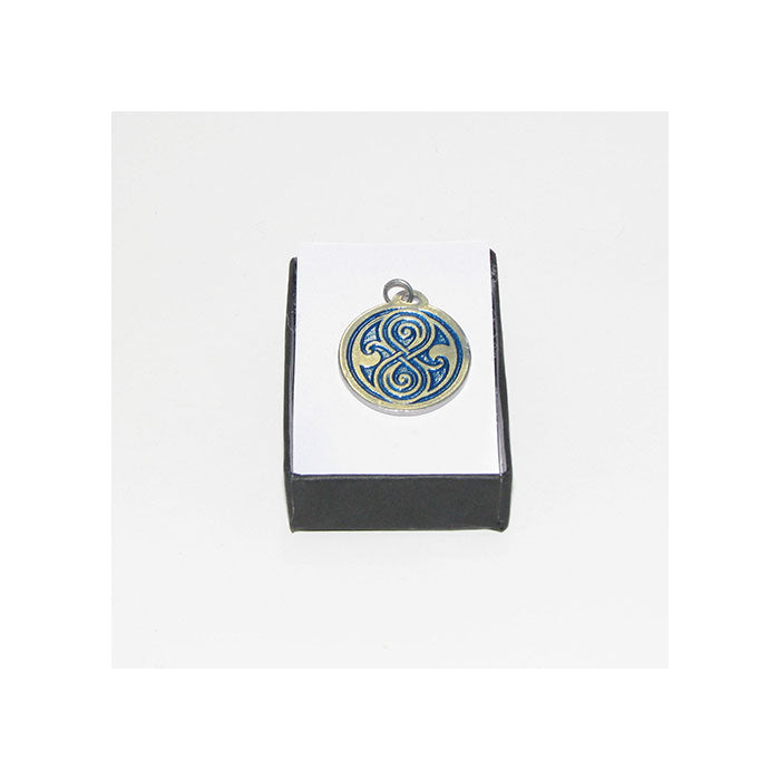 Seal of Rassilon Pendant (blue)