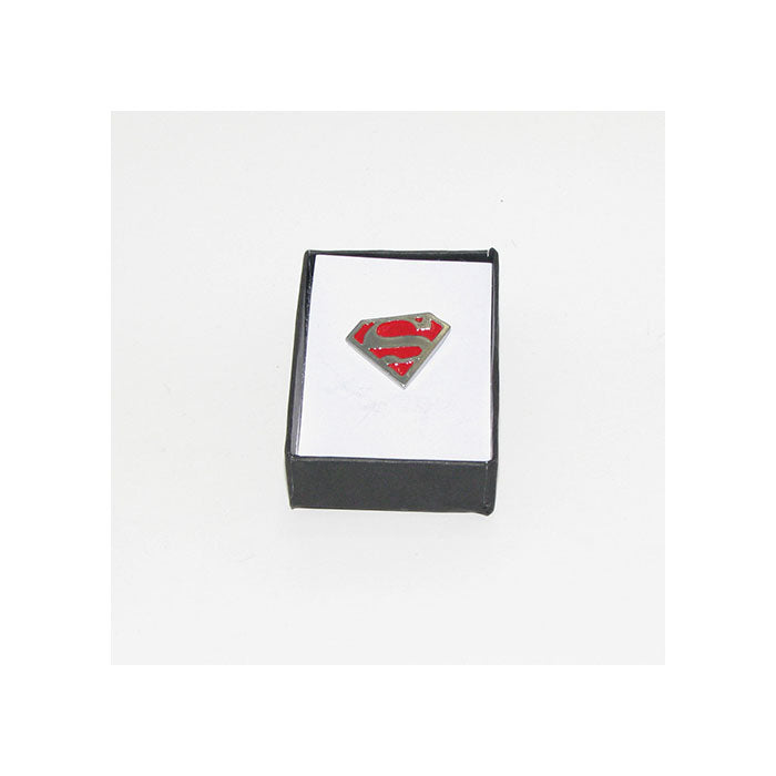 Superman Lapel Pin (red)