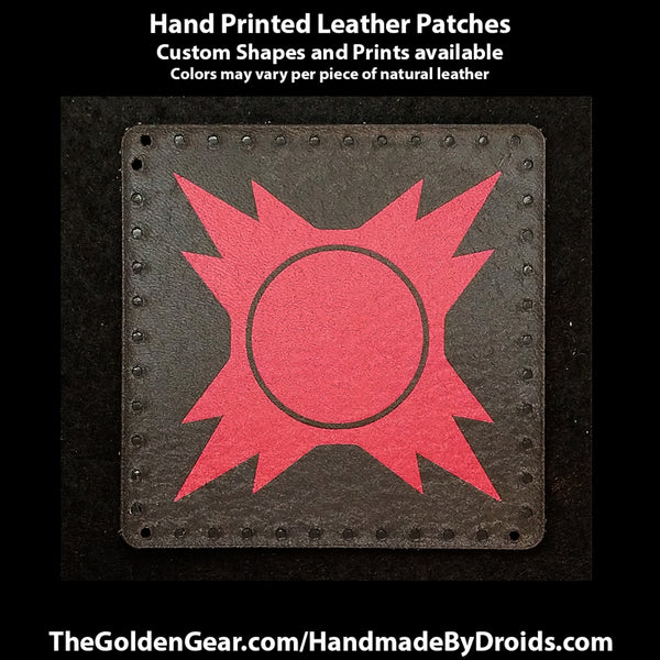 Sith Order (Star Wars) 3.8 inch Leather Patch