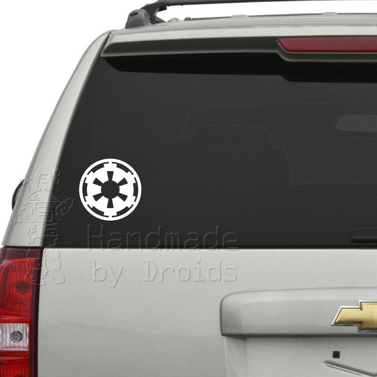 Imperial Cog Vinyl Decal