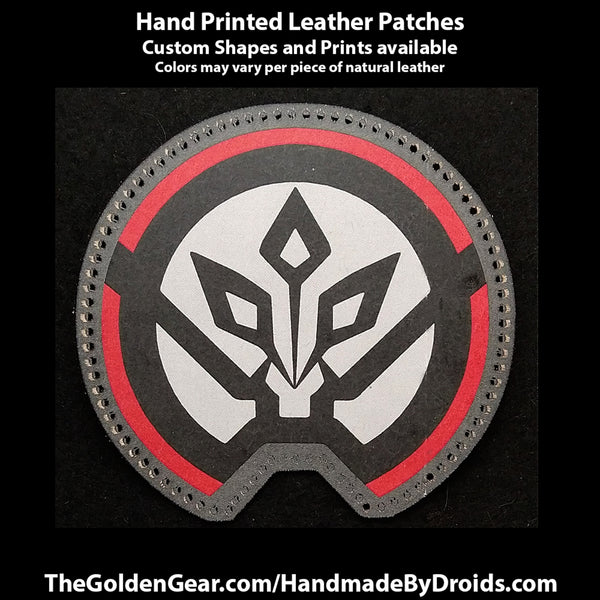 7th Fleet Thrawn (Star Wars) 3.8 inch Leather Patch