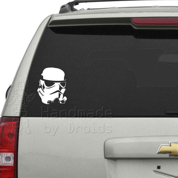 Trooper Helmet Vinyl Decal