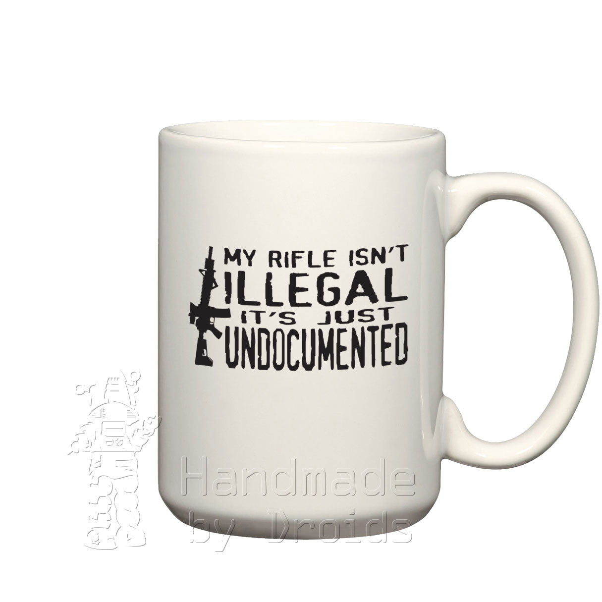 Undocumented Rifle (15oz) Mug