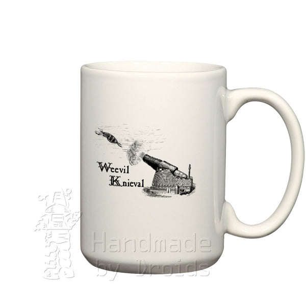 Weevil Knieval Cannon Etching (15oz) Mug