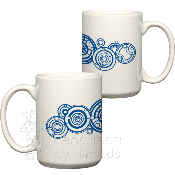 Doctor Who Circular Gallifreyan name Mug