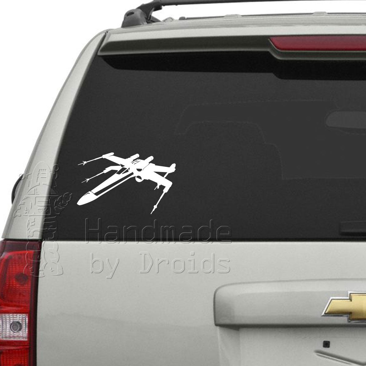 X-Wing Fighter (left-facing) Vinyl Decal