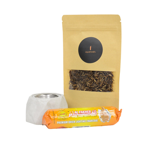 Burn Kit & Mix Bakhoor Gift Pack - Agaroots