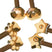 Star, Paw & Facet - Rose Gold Set of 3